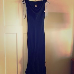 Size 5/6 Evening Dress with ruffles on bottom